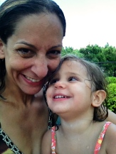 Summer 2013 at the pool in NJ