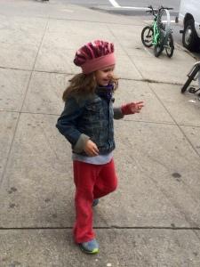 Sweet, funny, grumpy fashionista on the run!